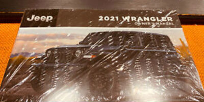 2021 JEEP WRANGLER OWNERS MANUAL UNLIMITED SAHARA SPORT