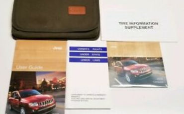 2013 JEEP COMPASS OWNERS MANUAL LIMITED LATITUDE 2 4L 2 0