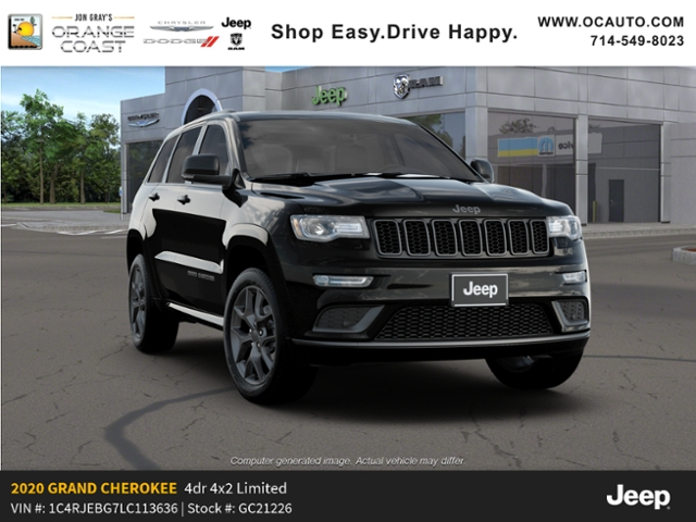 New 2020 JEEP Grand Cherokee Limited X Sport Utility In